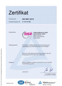 Zertifikat deutsch ISO 9001_2015 Juni 2017